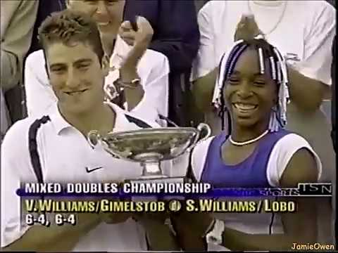 Justin Gimelston and Venus Williams Win
