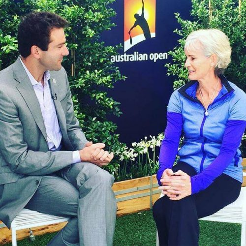 Australian Open Interview with Justin-Gimelstob